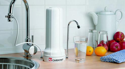 Carbonit SanUno Auftisch-Wasserfilter